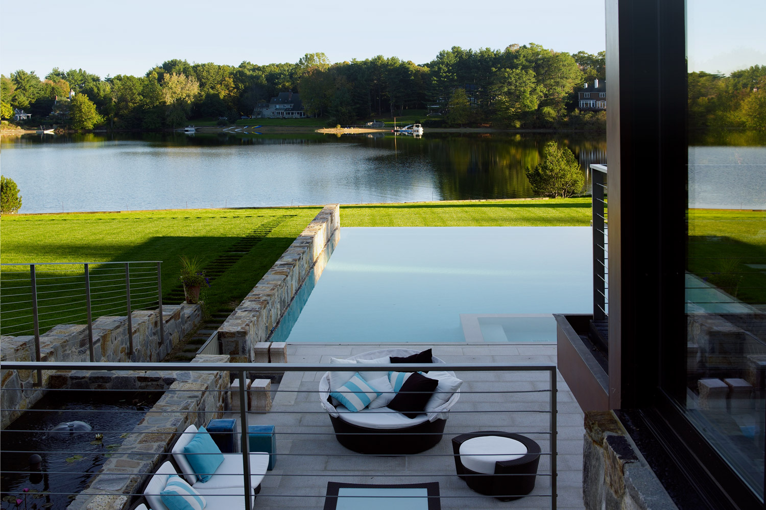 Austin patterson disston architects portfolio contemporary lakefront contemporary - Residence secondaire austin patterson disston ...